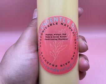 Papaya, Mango, Red Palm & Cocoa Butter Conditioning Shampoo