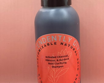 Activated Charcoal, Hibiscus, & burdock Root Clarifying Shampoo