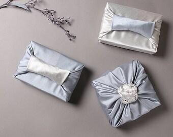 Fabric Gift Wrap Furoshiki Cloth Wrap No Furoshiki Wrap Premium Light Green /& Teal Bojagi Furoshiki Cloth 402 Ecofriendly Wrapping