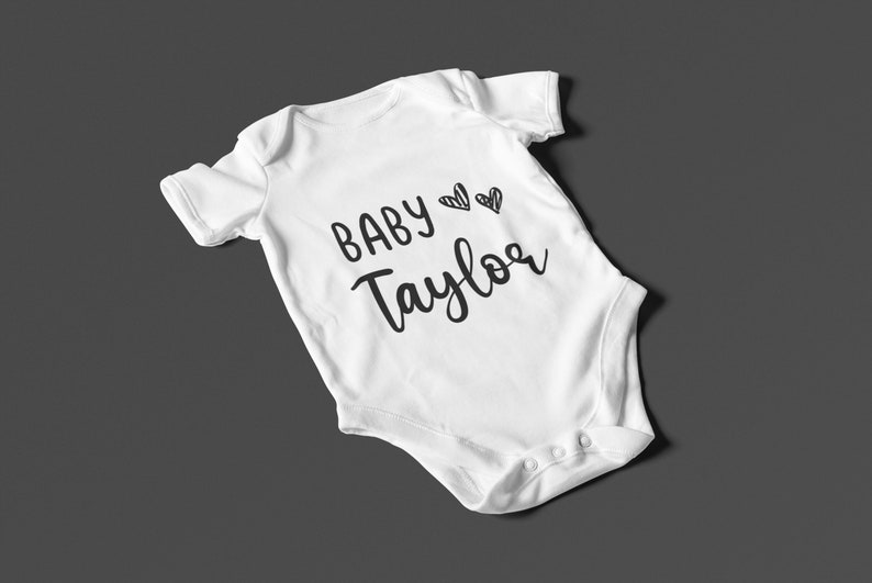 Gift for new baby Gift for Expecting Parents UK Pregnancy announcement Personalised Unisex Baby Vest baby shower Unisex Baby Bodysuit