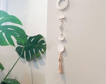 Geometric Wall hanging | clay wall hanging | home decor | nursery decor | office decor