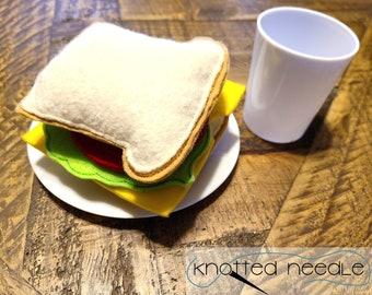Sandwich Felt Food ITH Embroidery Designs