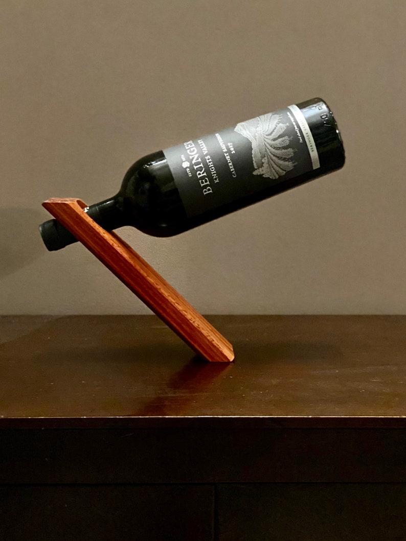 Blood wood Bottle balancer