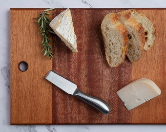 Wood Serving Board, Cheese Board, Charcuterie Board, Cutting Board, Mother's Day Gift, Wedding Gift, Minimalist Style, Handmade