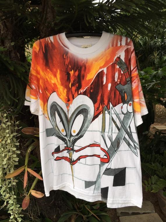 Vintage 1999 Pink Floyd All Over Print shirt