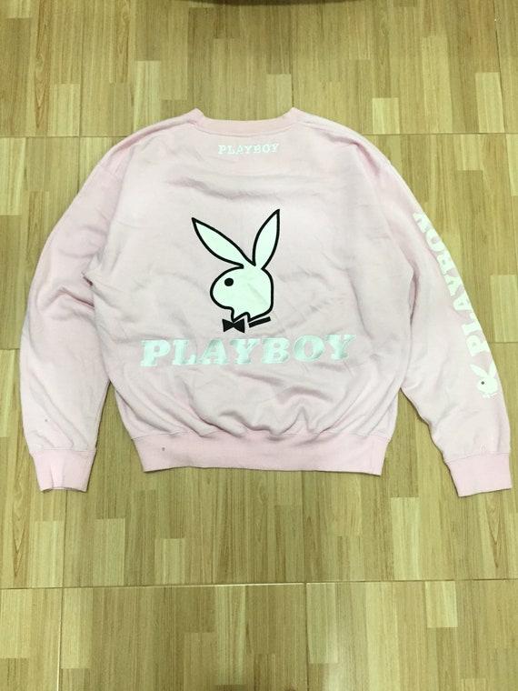 Playboy Bunny Head Logo Sweatshirt