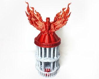 Phoenix Dice Tower (Fate's End Design)