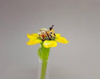 Glass Honey Bee, True Size Honey Bee, Glass Bees