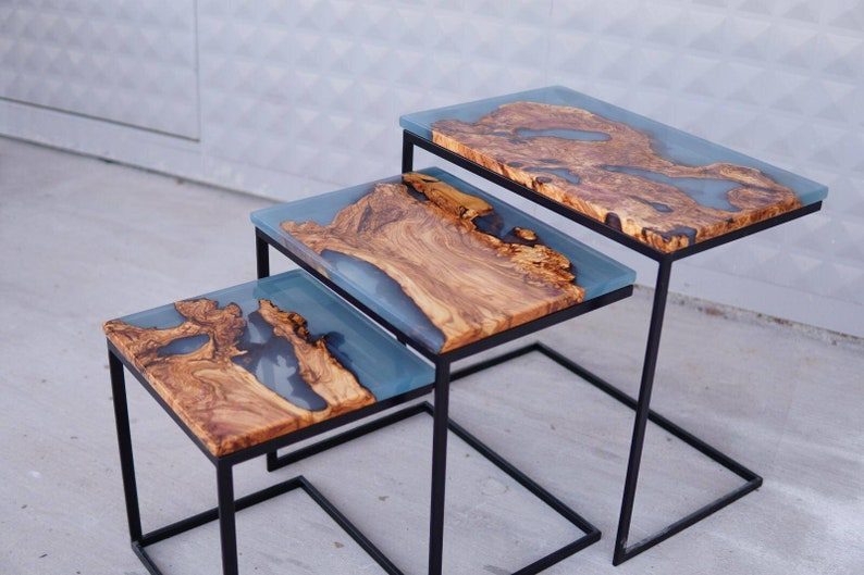 Triple coffee tables image 0