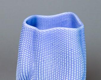 """Porcelain vase #568 """"Coral"""""""