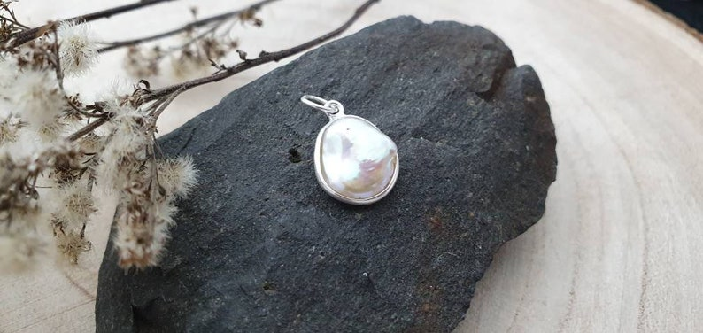 Nature Pearl Baroque Pearl Real Silver