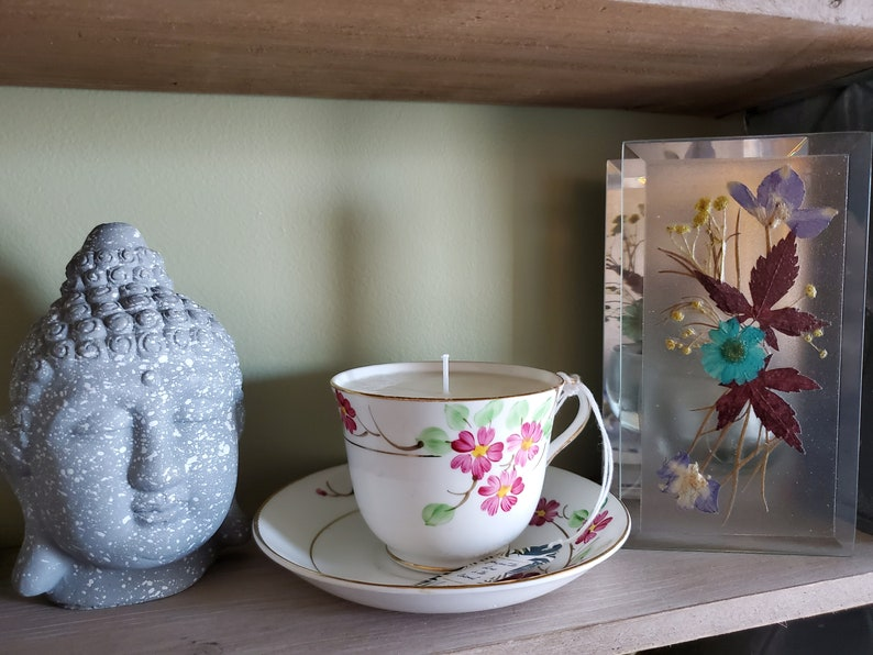 You put the Lime in the Coconut Soy Tea Cup Candle