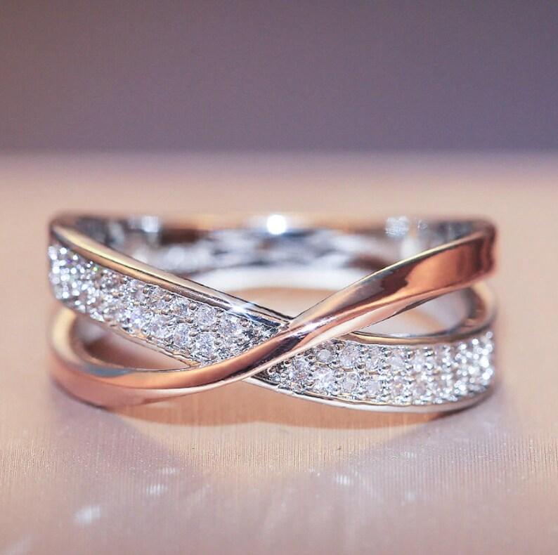 Multi Color Twist Ring