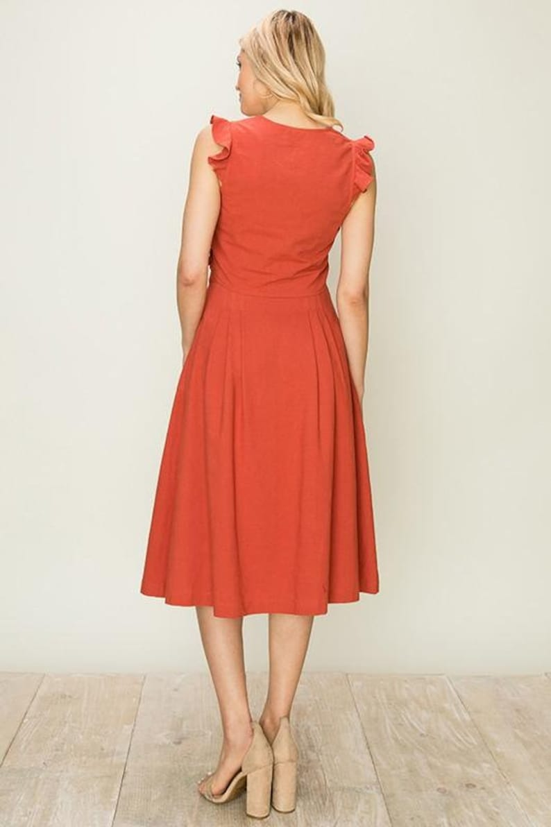 Andrea Rust Two Piece Set