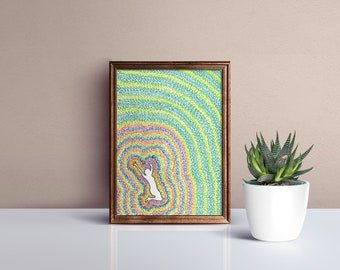 Jumping for Joy Therapeutic Positive Wall Art