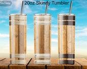 Whiskey Barrel Skinny Tumbler,wood Whiskey barrel 20oz Skinny Tumbler Sublimation Wrap Designs Digital Template PNG tumblers