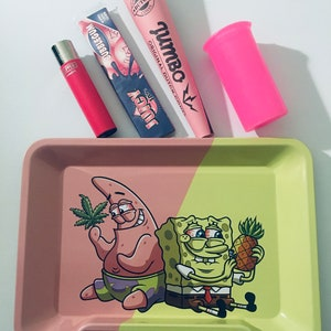 Pink Panther Smoking RollingTray Ladies  Christmas Birthday Gift Set Accessories