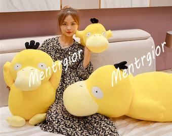 Large Kawaii Psyduck Daze Yellow Duck Stuffed Plush Toys, Adorable Soft Pillow, Home Decor, Sofa Stuffed Doll, Unique Present for Children