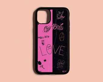 New Phone case iPhone 5 6 6s 7 8 Plus X Xr Xs 11 12 Pro Max Mini SE Bbc Lil WS Peep Samsung S9 S10 S20 S21 Note 8 9 10 Plus 20 Ultra Cover