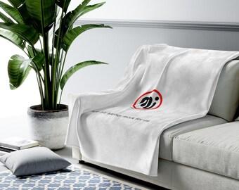 Master Investor Velveteen Plush Blanket