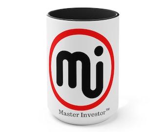 Master Investor Accent Mug