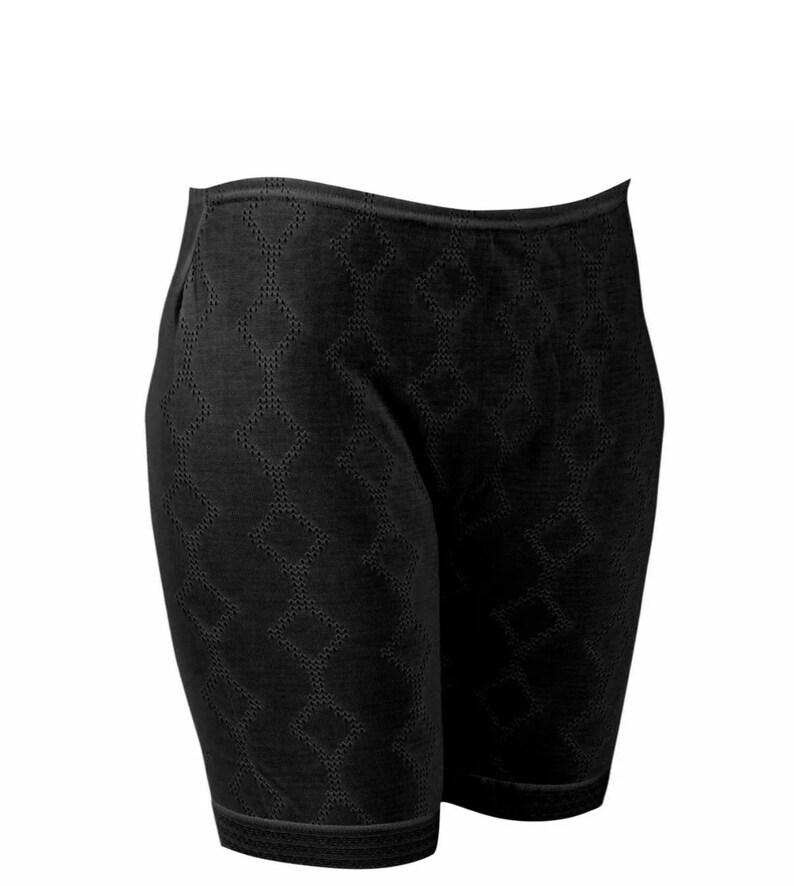 Ladies Thermal Panties Winter Warm Underwear Women/'s Brushed Black White