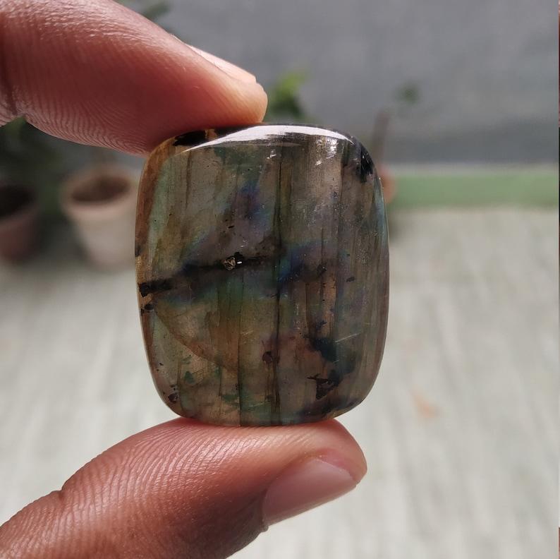 32x27mm size 75.20carat approx...A022 Natural Laborite cabochon gemstone