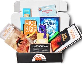 Book Gift for Kids 8-14yrs (Theme: Diverse Mysteries), mystery box, Book Box, Reading, Surprise Box, book subscription box, books for kids