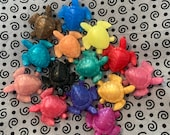 Miniature Sea Turtle Hand Soaps - Set of 12 Made with Aloe Vera and Essential Oils