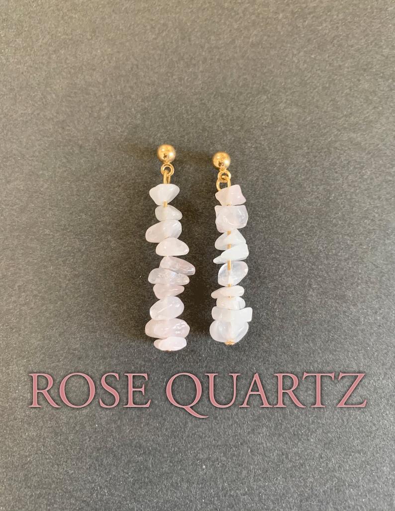 Crystal Earrings Gold Wire Earrings Assorted Gemstone Earrings Dangly Gemstone Earrings Made to Order Gold Gemstone Earrings
