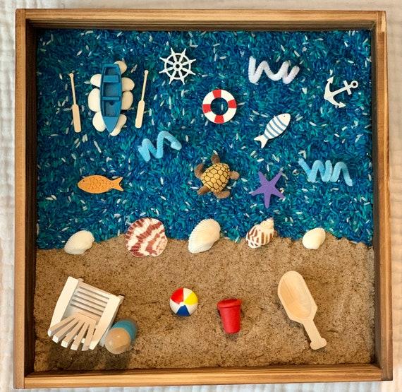 Summer / Beach Sensory Bin Kit