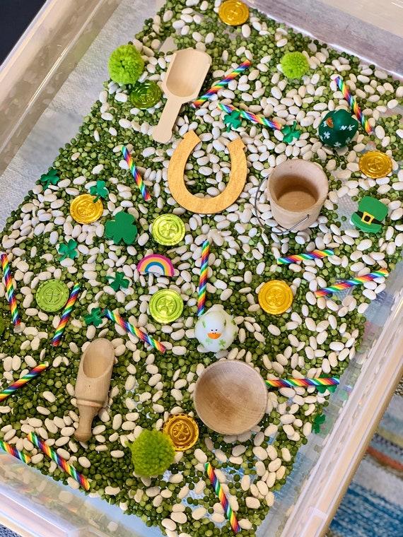 St. Patrick's Day Sensory Bin Kit