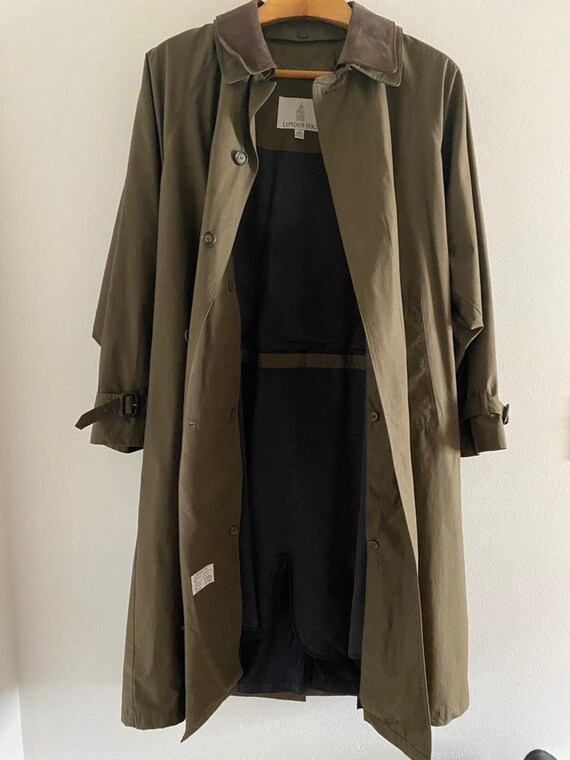 London Fog trench coat - image 2