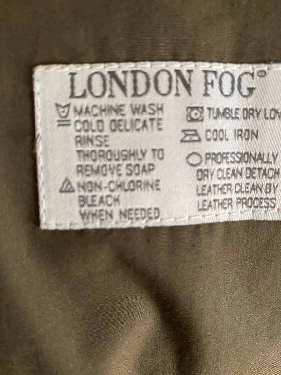 London Fog trench coat - image 4