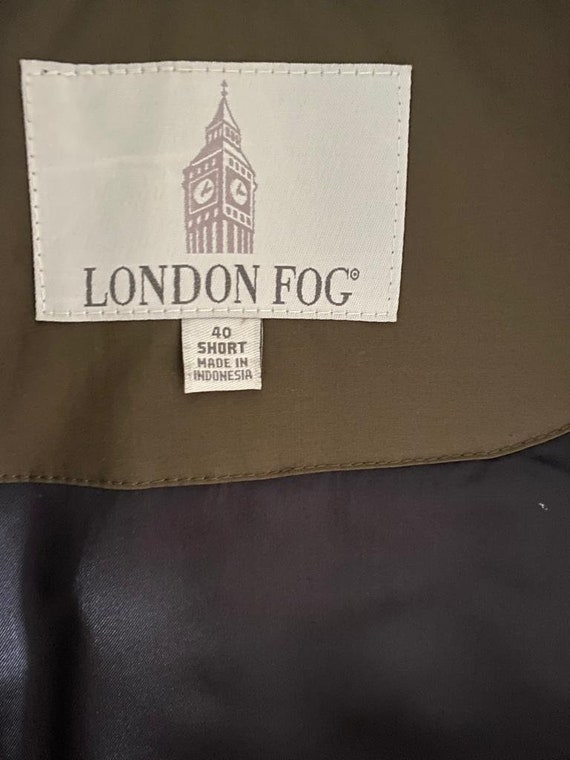 London Fog trench coat - image 6