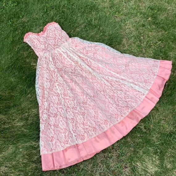Vintage 1980's Gunne Sax Lace Dress - image 6