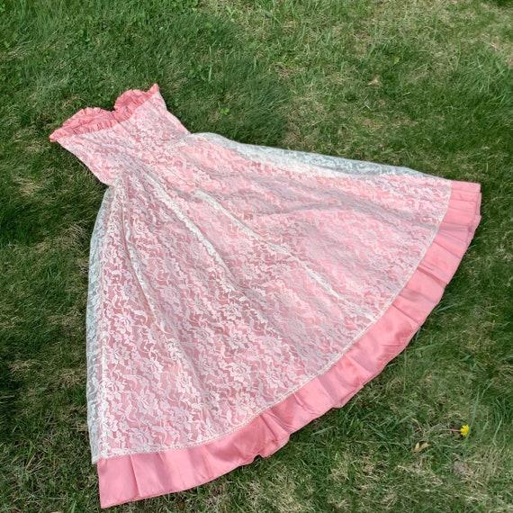 Vintage 1980's Gunne Sax Lace Dress - image 5
