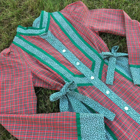 Vintage Gunne Sax Holidays Dress 1970's