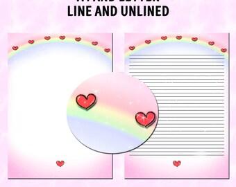 Lisa Frank Dragon Dream Writers Stationery Sheet  love happiness black paper
