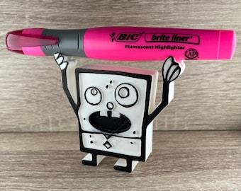 DoodleBob Pencil Holder   Doodle Bob Pen Holder Stand