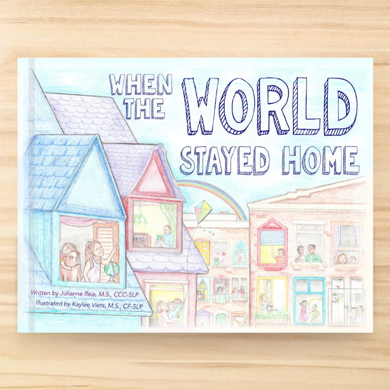 When the World Stayed Home Hardcover Children's Book image 0