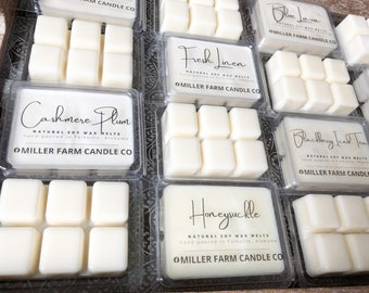 Free shipping!!! Made of 100/% soy wax Highly scented wax melts