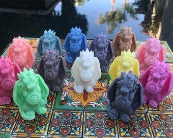 Leo Zodiac Dragon Artisan Soap
