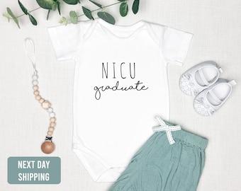 NICU Graduate Baby Onesie®-Newborn Going Home Outfit-IVF Baby onesie®-Premie Baby gift-nicu grad-miracle baby