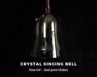 Zeal point Chakra, Note G#, Crystal Singing Bell (Sound Healing, Soundbath, Meditation, Reiki, Lightworker)