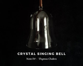 Thymus (Upper Heart) Chakra, Note F#, Crystal Singing Bell (Sound Healing, Soundbath, Meditation, Reiki, Lightworker)