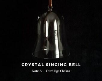 Third eye Chakra, note A, Crystal Singing Bell (Sound Healing, Soundbath, Meditation, Reiki, Lightworker)