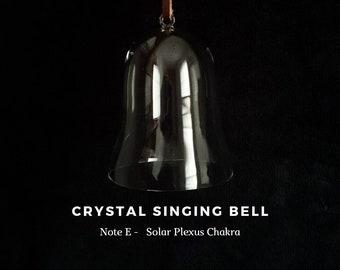 Solar Plexus Chakra, note E, Crystal Singing Bell (Sound Healing, Soundbath, Meditation, Reiki, Lightworker)