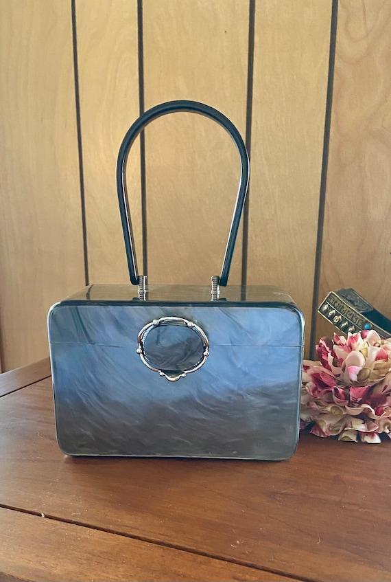 Authentic Vintage Wilardy Lucite handbag purse