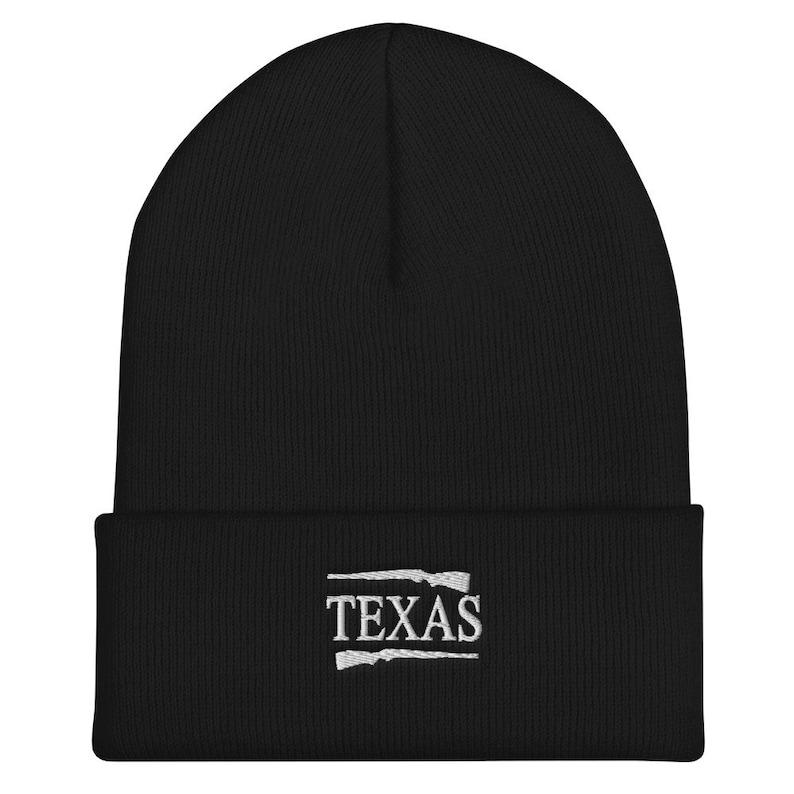 Texas Beanie State Pride Guns